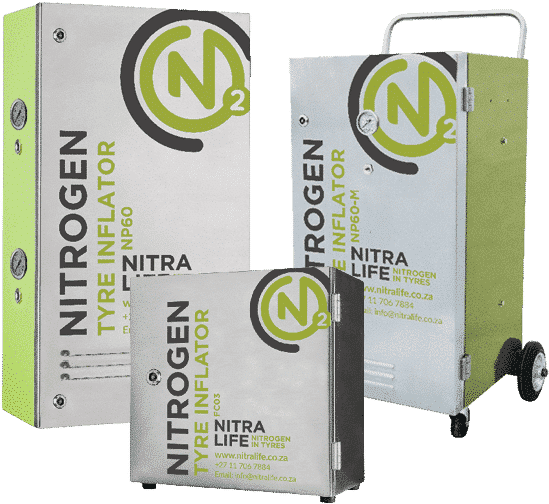 Nitralife Nitrogen Tyre Inflator Machines and Generators